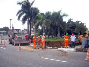Subprefeitura inicia obras na praça Batista Botelho